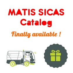 Discover now our new catalog for the MATIS SICAS brand and receive a surprise gift !